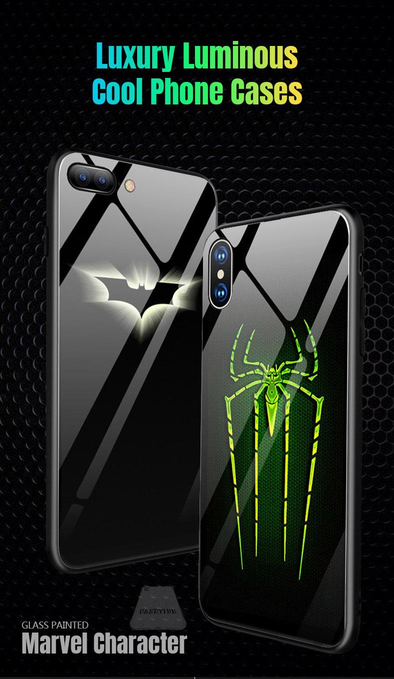 Marvel Batman illuminate case