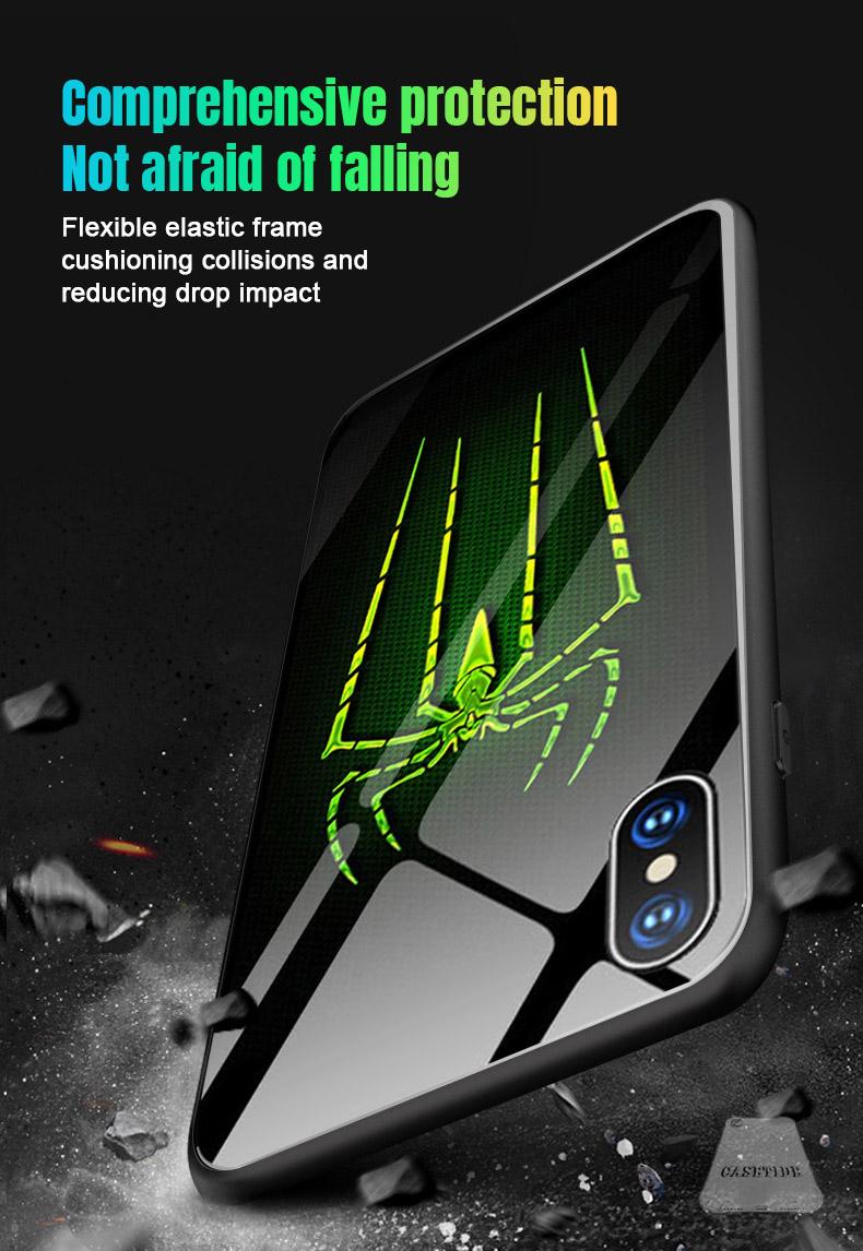 Spider-Man illuminated iPhone case