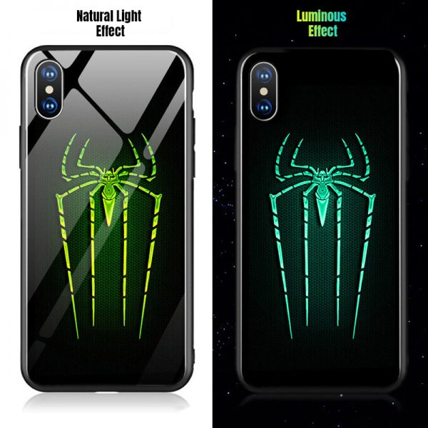 Spider-Man illuminated iPhone case
