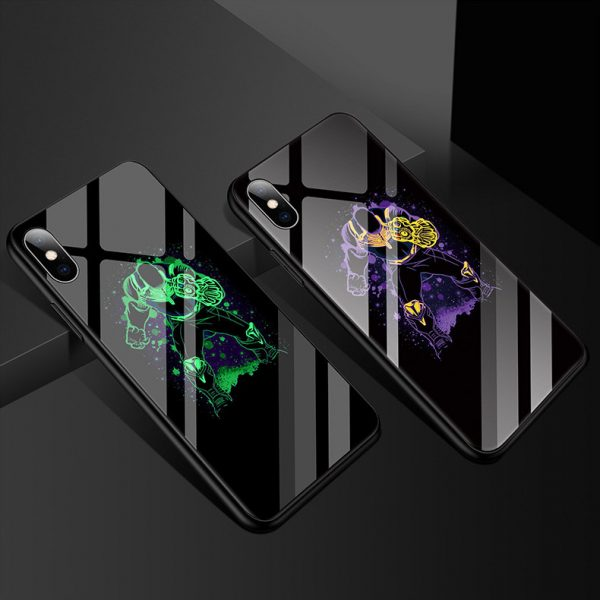 illuminating phone case