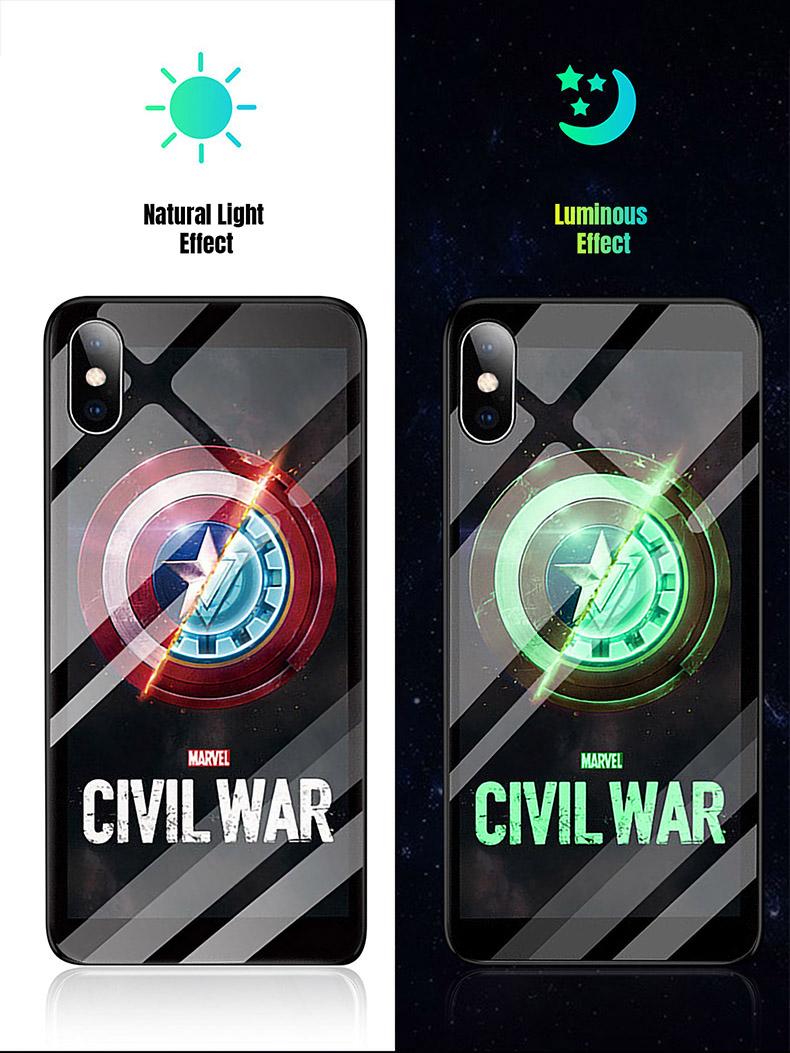 Civil War light up iPhone case