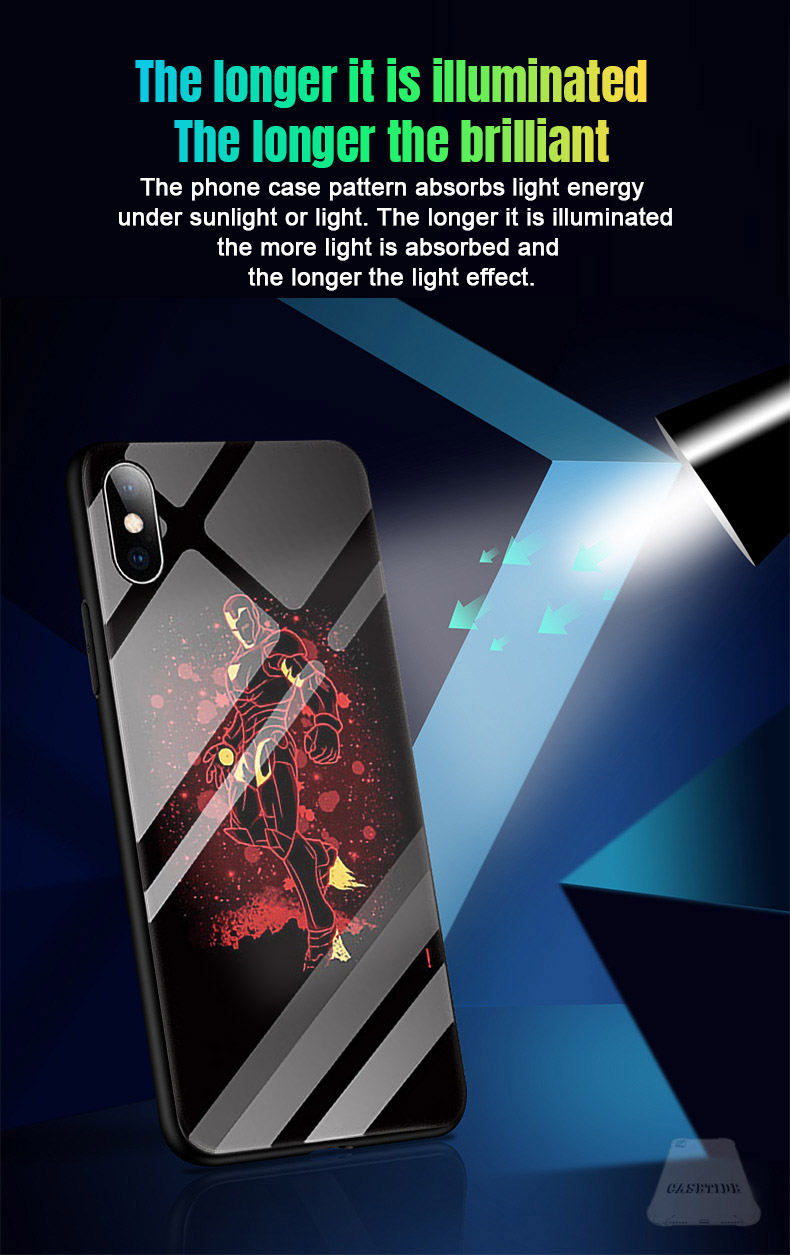 timeless design 37f4b ae828 Light up phone case iPhone 6 - Marvel Iron Man best mobile back cover