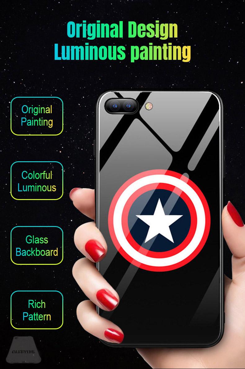 Captain AmericabestLuminous case