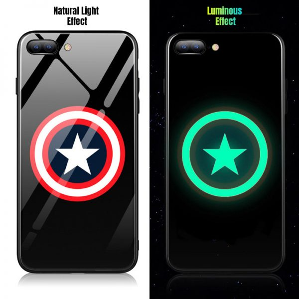 Captain America best Luminous case