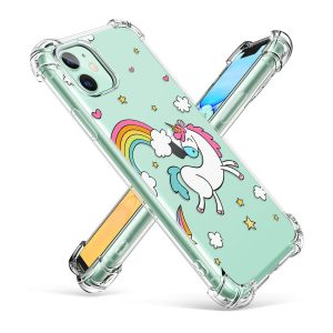 Shockproof case iPhone 7 for girl clear mobile phone cover
