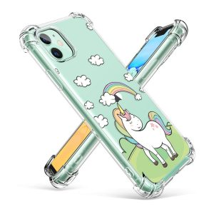 Shockproof case iPhone 8 plus clear mobile phone cover